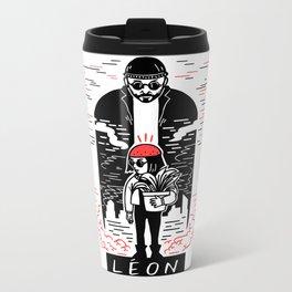 Leon & Mathilda Metal Travel Mug