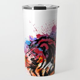 Lion Spirit Travel Mug