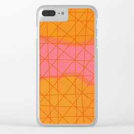 Summer Heat Clear iPhone Case