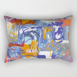 Shamanic Painting 01 Rectangular Pillow