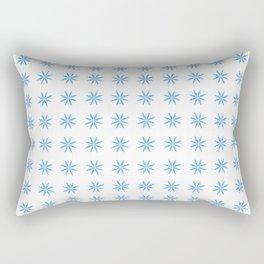 stars 88- blue Rectangular Pillow