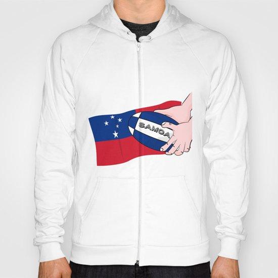 Samoa Rugby Flag Hoody