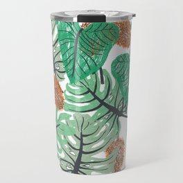 Jungle Print Travel Mug