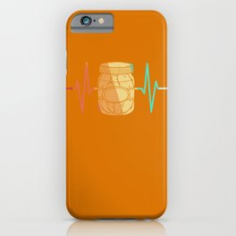 Cucumber Pickle gherkin heart beat iPhone Case