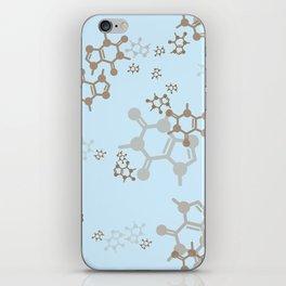 caffeine blues iPhone Skin