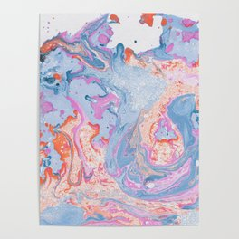 Marbled Summer Poster