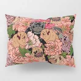 Because Pugs Pillow Sham