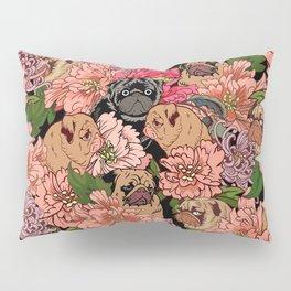 Because Pugs Pillow Sham