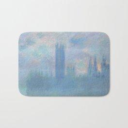 Monet, The Houses of Parliament, London, 1900-1093 Bath Mat
