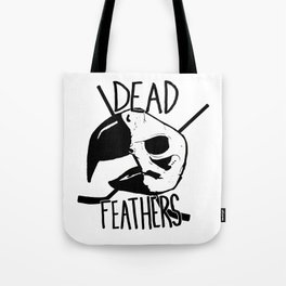 DEAD FEATHERS CREST Tote Bag