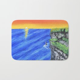 Cliffs of Moher by Brianne Downes Bath Mat