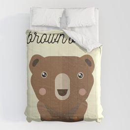 Brown Bear Comforters