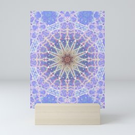 Space Mandala no3 Mini Art Print