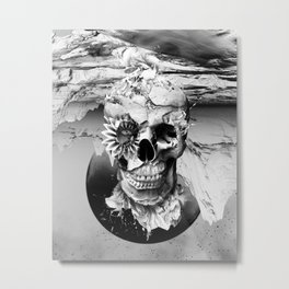 Skeleton Metal Print