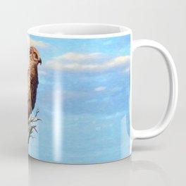 Brown Snake Eagle Coffee Mug