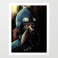 nausicaa Art Prints featuring Nausicaa of the Valley of the Wind by Barrett Biggers