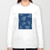 botanical Long Sleeve T-shirts featuring Botanical by Jody Edwards Art