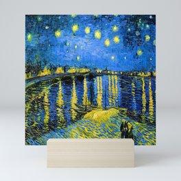 Van Gogh Starry Night Over the Rhone Mini Art Print