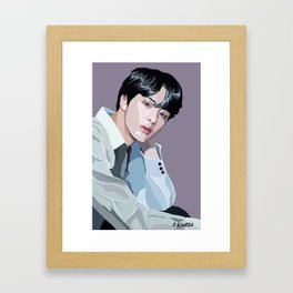 Jin Framed Art Print
