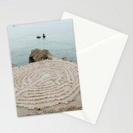 Lands End Labyrinth, San Francisco Stationery Cards