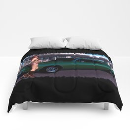 69 Charger Pinup Comforters