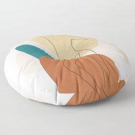 Summer Dance II Floor Pillow