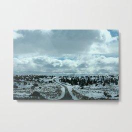 16 Miles of Dirt Road Metal Print