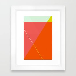 ‡ T x T ‡ Framed Art Print