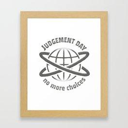 Judgement Day Framed Art Print