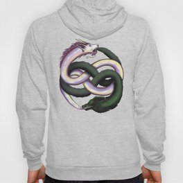 Wolf and Dragon Hoody