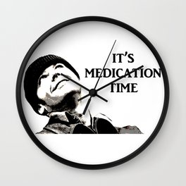 Medication Time! Wall Clock