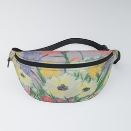 Practice Flowers Fanny Pack