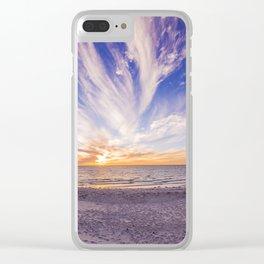 Semaphore Beach Clear iPhone Case