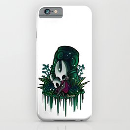 Hornet and the knight in greenpath iPhone Case