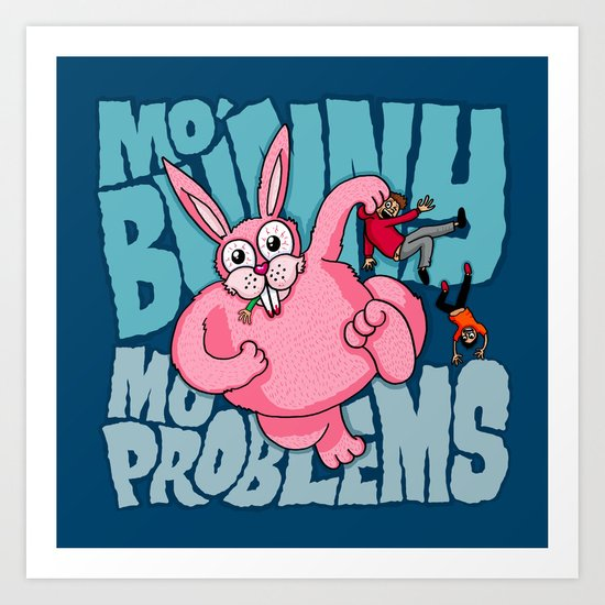 Mo Bunny... Art Print