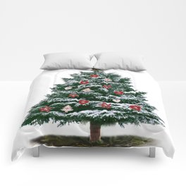 Christmas Tree by Chrissy Comforters