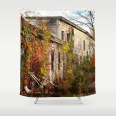 Somewhere in Rhode Island - Abandoned Mill 001  Shower Curtain