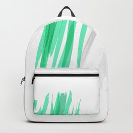 Mexican Abstract Flag Backpack