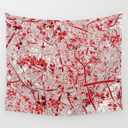 Welcome to the Jungle RED Wall Tapestry