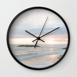 A Gentle Dawn Wall Clock