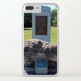 Turkey Foot Rock Clear iPhone Case