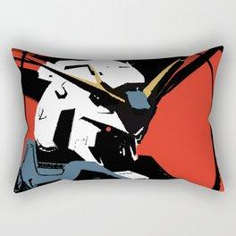Gundam Rx-93 headbust Rectangular Pillow
