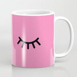 Wink (on pink) Coffee Mug