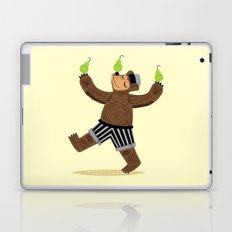 A Bear With Pears Laptop & iPad Skin