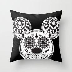 This Ain't Disney Sugar Skull Throw Pillow