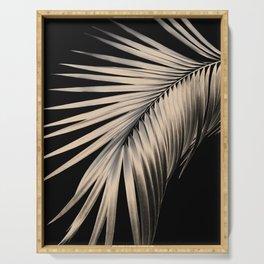 Palm Leaf Dream #1 #tropical #decor #art #society6 Serving Tray