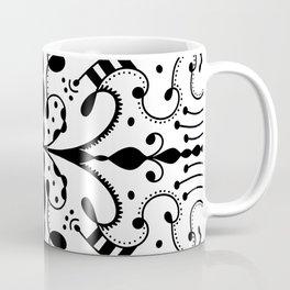 Lashes and Dots Coffee Mug