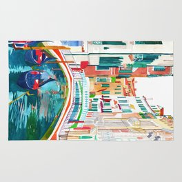 Canal in Venice Rug