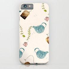 TEA PARTY PATTERN Slim Case iPhone 6s