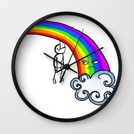Taste the Rainbow? Wall Clock
